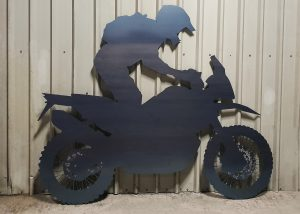 Laser cut large motor cross bike