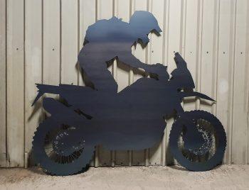 Laser cut large motor cross bike